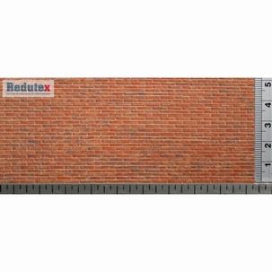 032LD122 Brick Plain Bond (Polychrome)