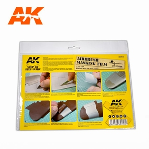AK Airbrush Masking Film
