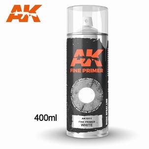 AK1011 Fine Primer White Spray