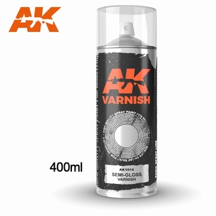 AK Semi Gloss Varnish Spray