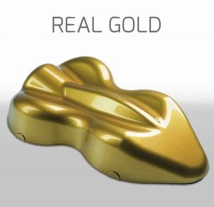 Custom Creative Base Metallic Real Gold
