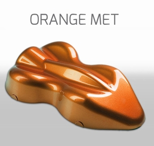Custom Creative Base Metallic Orange Met