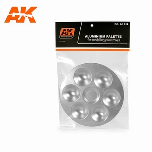AK Six Wells Tray (rond)