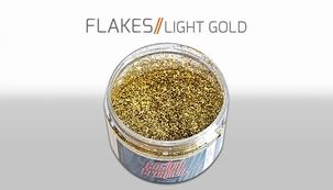 Custom Creative Flake Light Gold 025
