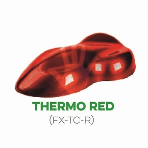 Custom Creative FX Thermo Cromical Red