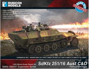 280040 - SdKfz 251/16 Ausf C/D Expansion Set