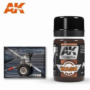 AK Enamel Landing Gear Wash