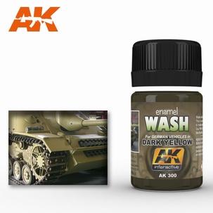 AK Enamel Dark Yellow Wash