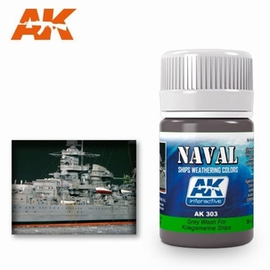 AK Enamel Grey Wash For Kriegsmarine Ships
