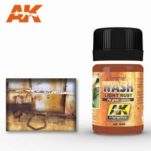 AK Enamel light Rust Wash
