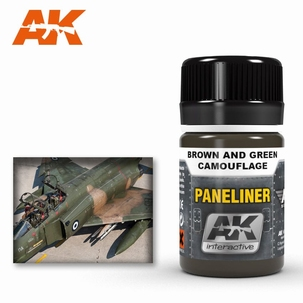 AK Panelliner for Brown and Green Camouflage