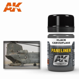 AK Panelliner for Black camouflage