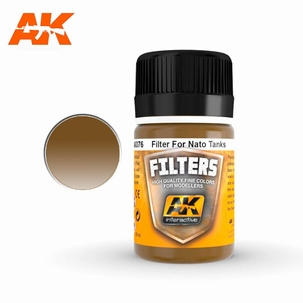 AK Filters Dark Brown For Nato Camouflage