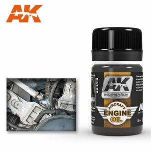 AK Engine Effects Aircraft Engine Oil