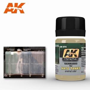 AK Streaking Effects Rainmarks