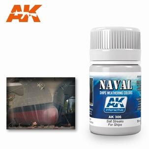 AK Streaking Effects Salt Streaks for Ships