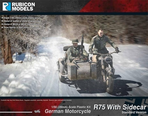 280051- German Motorcycle R75 with Sidecar (ETO)
