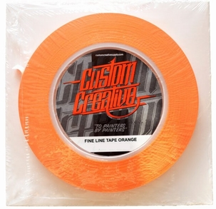 Custom Creative Orange Tape 3mm