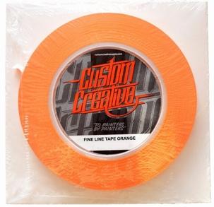 Custom Creative Orange Tape 9mm