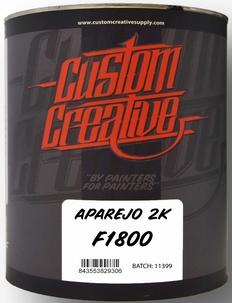 Custom Creative 2k Primer zwart + verharder
