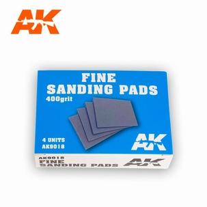AK Fine Sanding Pads 400 Grit