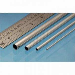 Albion ronde aluminium buis 1mm x 0.25mm x 0.5mm
