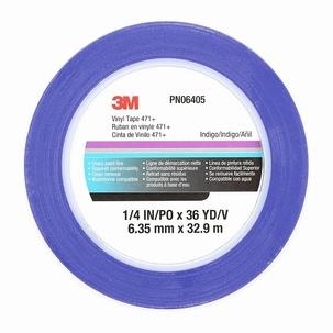 3M Vinyl Fine-Line Tape Blue 6,35mm