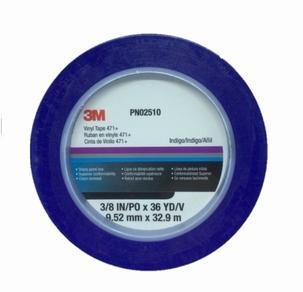 3M Vinyl Fine-Line Tape Blue 9,25mm