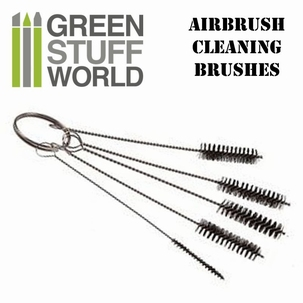GSW Airbrush Cleaning Brushes