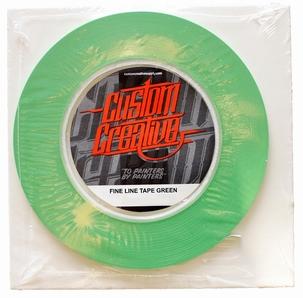 Custom Creative Green Tape 3mm