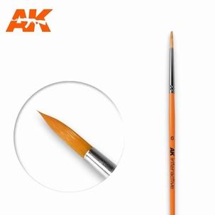 AK Round Brush Synthetic 6