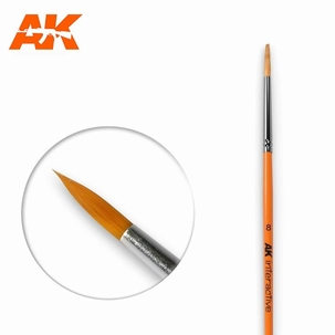 AK Round Brush Synthetic 8