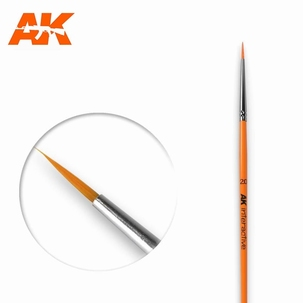 AK Round Brush Synthetic 2.0