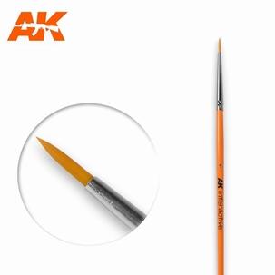 AK Round Brush Synthetic 1