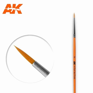 AK Round Brush Synthetic 2