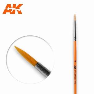 AK Round Brush Synthetic 4