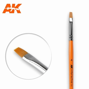 AK Flat Synthetic Brush 4