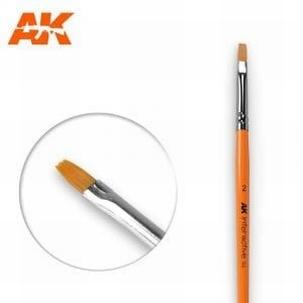 AK Flat Synthetic Brush 2