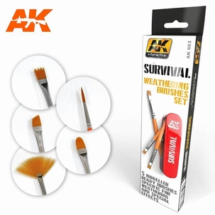 AK Survival Weathering Brush set