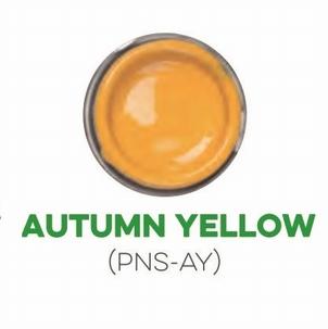 Custom Creative Pinstripe Enamel Autumn Yellow