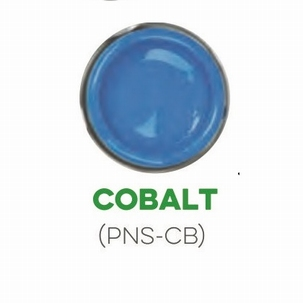 Custom Creative Pinstripe Enamel Cobalt Blue