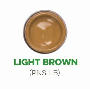 Custom Creative Pinstripe Enamel Light Brown