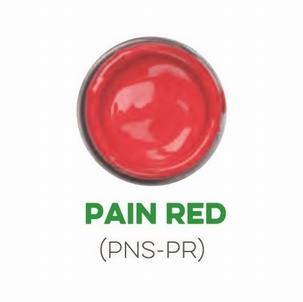 Custom Creative Pinstripe Enamel Pain Red