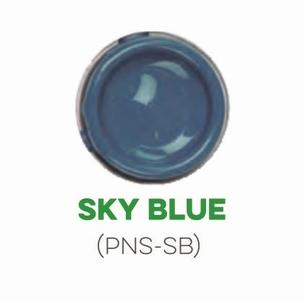 Custom Creative Pinstripe Enamel Sky Blue