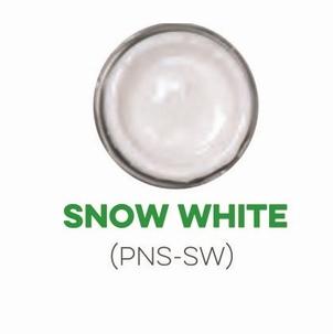 Custom Creative Pinstripe Enamel Snow White