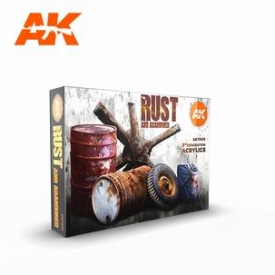 AK 3rd Generation Set Rust