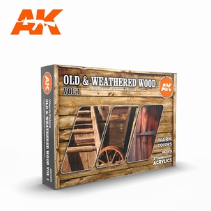 AK 3rd Generation Set Old & Weathered Wood 1