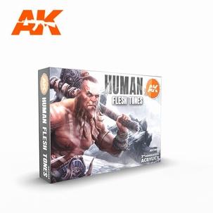 AK 3rd Generation Set Human Flesh Tones