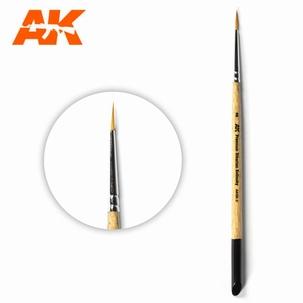 AK Premium Siberian Kolinsky Brush 2