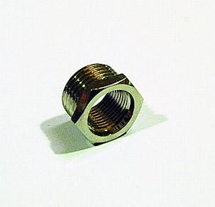 575 Adapter van 3/8 V naar 1/2 M